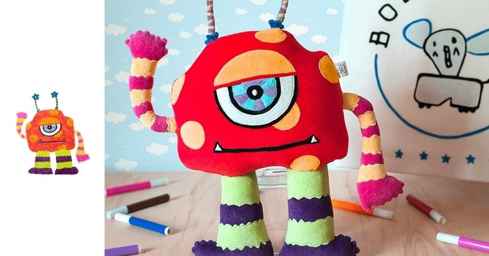 A Bololofos cria bonecos inspirados em desenhos de crianças