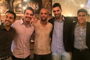 Felipe Melo, do Palmeiras, tem franquia de futebol que ajuda a estudar fora (Foto: Divulgação)