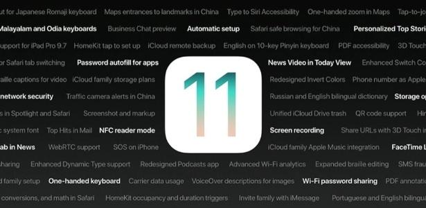 iOS 11 foi liberado para todos usuários após meses de testes