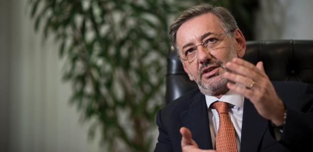 O secretário de Justiça de São Paulo e diretor da Fundação Casa, Márcio Elias Rosa