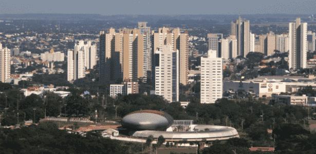 Aquário do Pantanal e a cidade - Chico Ribeiro/Segov - Chico Ribeiro/Segov