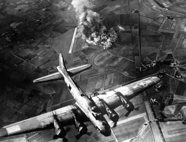 Bombardeios áereos na 2ª Guerra afetaram do solo à atmosfera