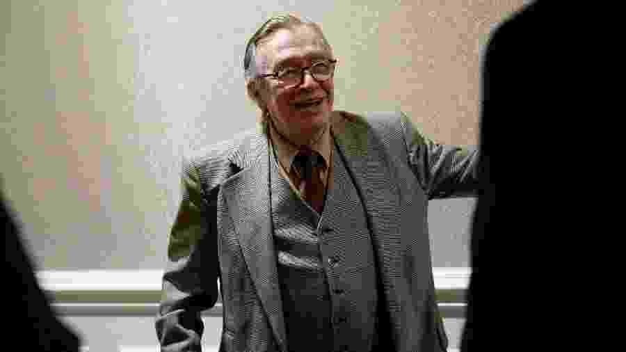O filósofo Olavo de Carvalho é alvo de ação na Justiça por postagens contra Jean Wyllys - Joshua Roberts/Reuters
