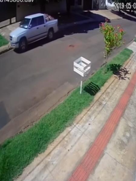 Reprodução/ câmera de segurança