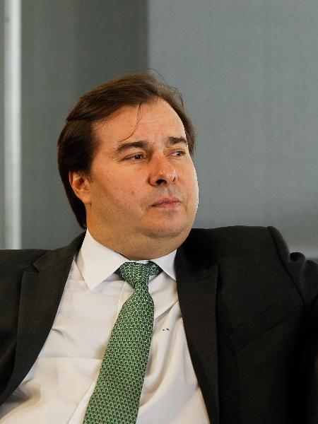 O presidente da Câmara, Rodrigo Maia (DEM-RJ) - Marcos Corrêa/PR