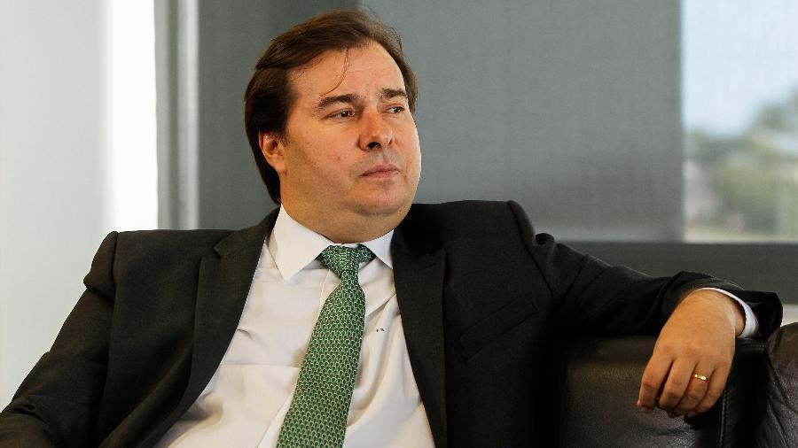 O presidente da Câmara, Rodrigo Maia (DEM-RJ), quer usar fundo da Petrobras para combater queimadas na Amazônia - Marcos Corrêa/PR