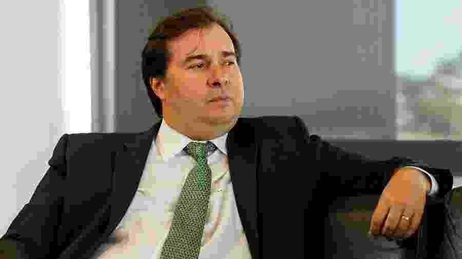 24.jan.2018 - O presidente da Câmara Rodrigo Maia (DEM-RJ) - Marcos Corrêa/PR