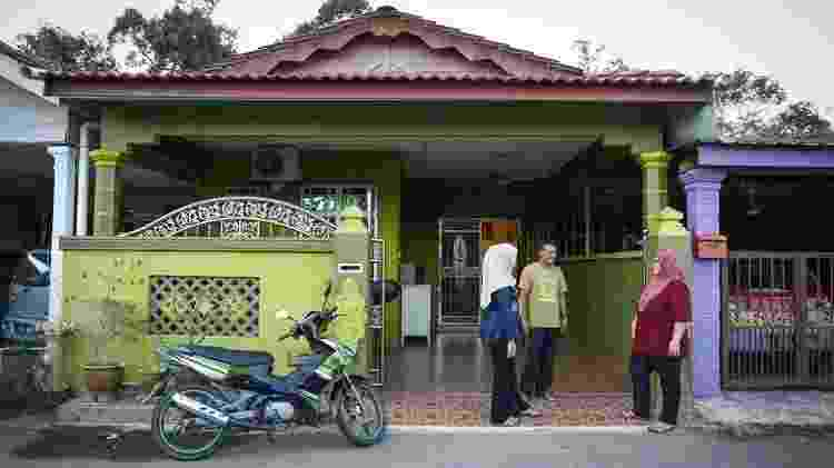 Casa da família de Siti em Padang Lembek - Joshua Paul/BBC - Joshua Paul/BBC