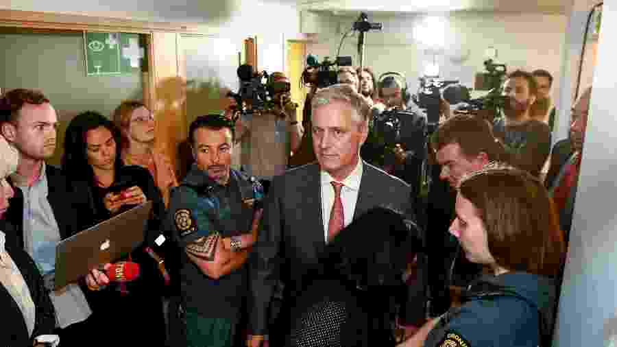 """Robert O""""Brien, assessor de segurança nacional de Trump, em foto de 2019 - Erik Simander/TT News Agency/AFP"""