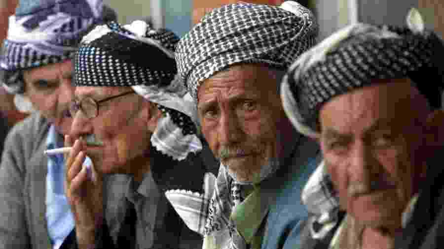 Os curdos habitam territórios localizados em 5 países - AFP