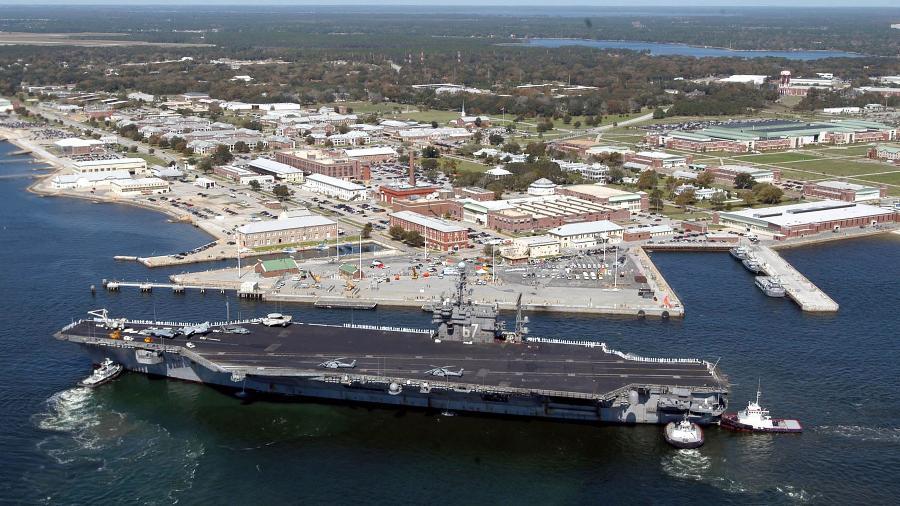 Base naval de Pensacola, na Flórida (EUA) - PATRICK NICHOLS / AFP