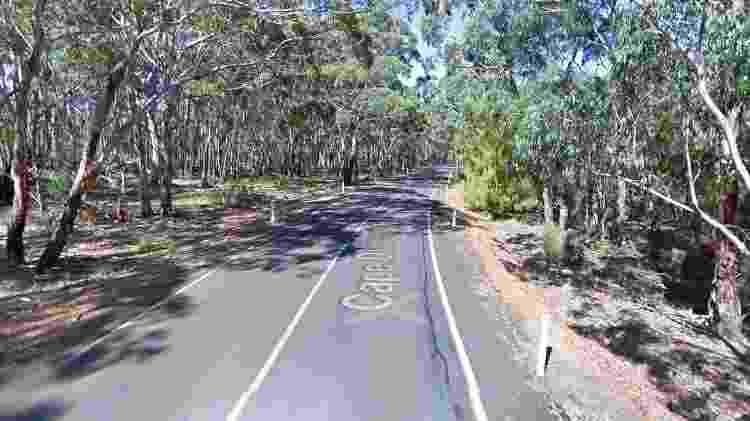 Parque Nacional Flinders Chase, em imagem de 2010 - Google Maps/Reprodução