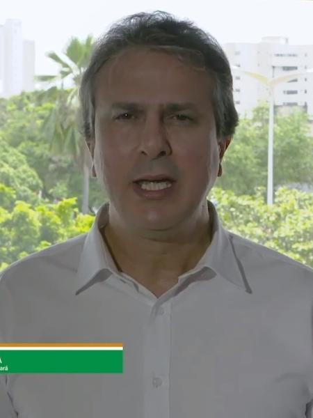 Camilo Santana (PT), governador do Ceará faz pronunciamento sobre segurança pública no estado - Reprodução/YouTube
