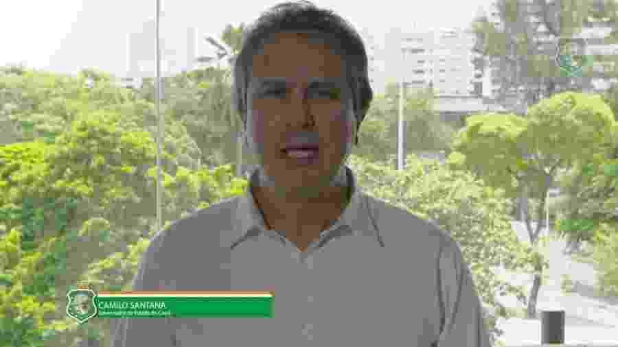 Camilo Santana (PT), governador do Ceará  - Reprodução/YouTube