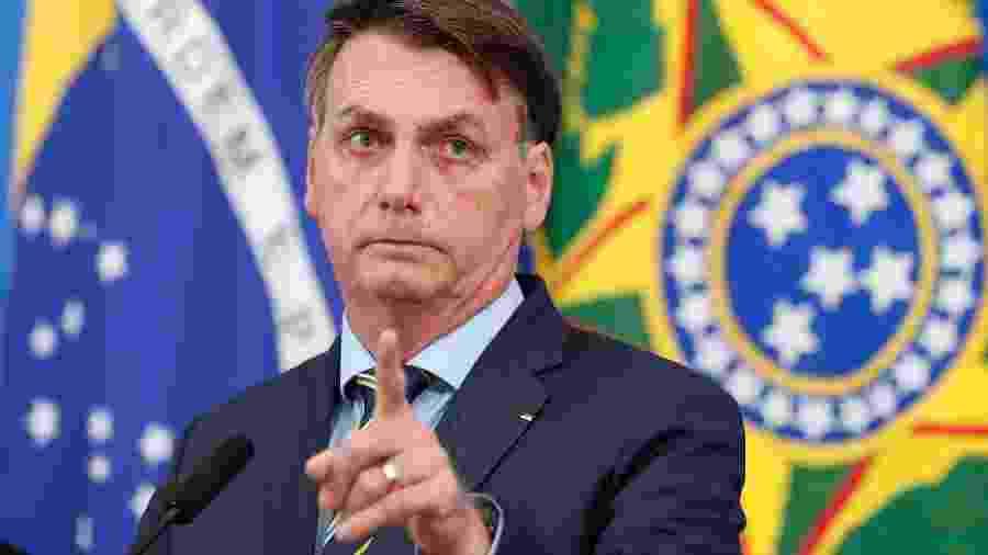 """O presidente Jair Bolsonaro (sem partido) relata dificuldade: """"não é só ler, tem que interpretar também"""" - Alan Santos/Presidência da República"""