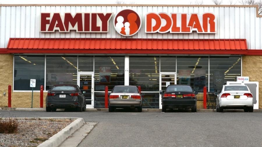 Loja da rede Family Dollar, onde Calvin Munerlyn trabalhava e foi morto - Robert Alexander/Getty Images