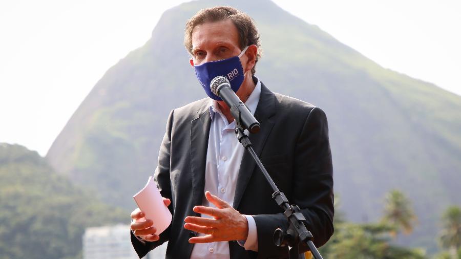 O prefeito do Rio de Janeiro, Marcelo Crivella (Republicanos)  - André Melo Andrade/Myphoto/Estadão Conteúdo