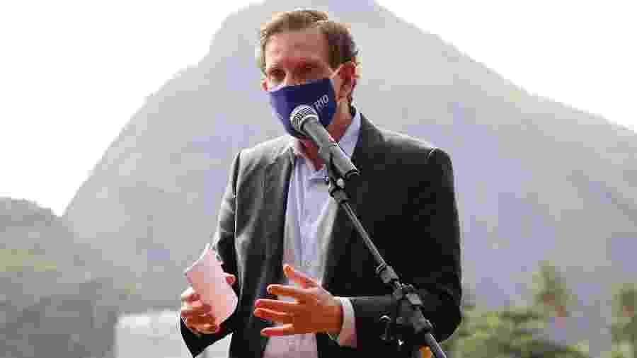 """O prefeito do Rio de Janeiro, Marcelo Crivella (Republicanos), é alvo de investigação sobre """"QG da propina"""" - André Melo Andrade/Myphoto/Estadão Conteúdo"""