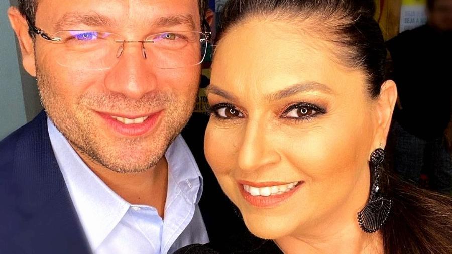 O empresário Luiz Carlos Avelino Júnior e a secretária de Comunicação do governo do Amazonas, Daniela Assayag - Arquivo Pessoal