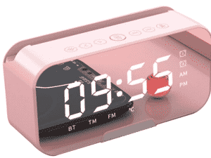 Rádio Relógio Despertador Digital Bluetooth - Divulgação - Divulgação