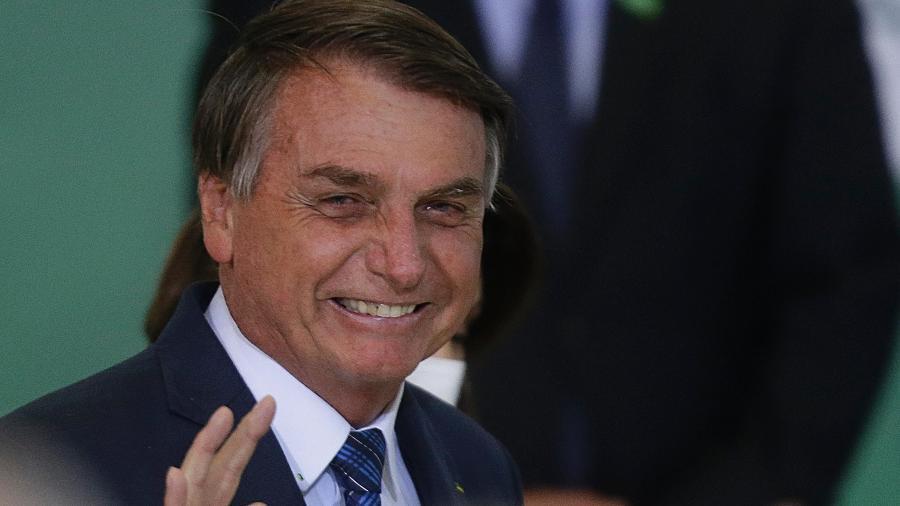 O presidente Jair Bolsonaro fará ato simbólico - Dida Sampaio/Estadão Conteúdo