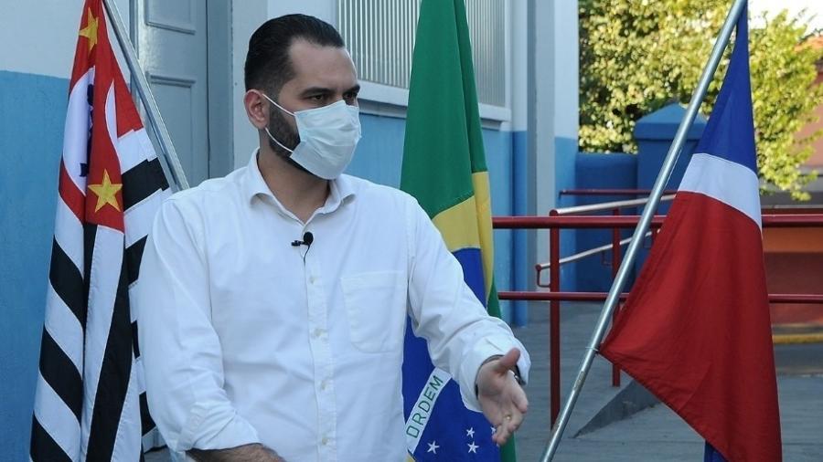 """""""Uma cidade de 57 mil habitantes agora ficando conhecida por uma notícia ruim"""", disse Rômulo Rippa (PSD) - Reprodução/Facebook"""