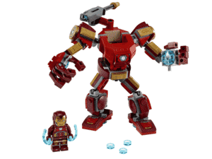 iron man lego - Divulgação - Divulgação