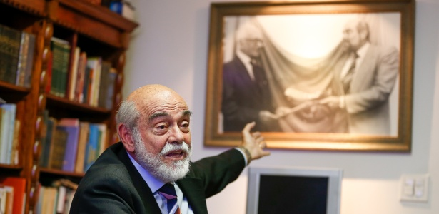 O ex-presidente da OAB Marcelo Lavenère, um dos autores do pedido de impeachment de Collor, em 1992