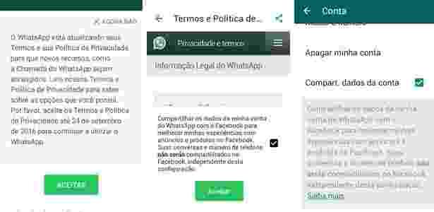 WhatsApp_política de privacidade  - Reprodução - Reprodução