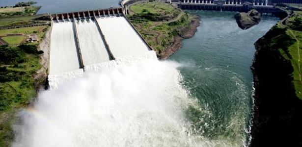 Usina de Itaipu quebrou o próprio recorde de geração de energia elétrica