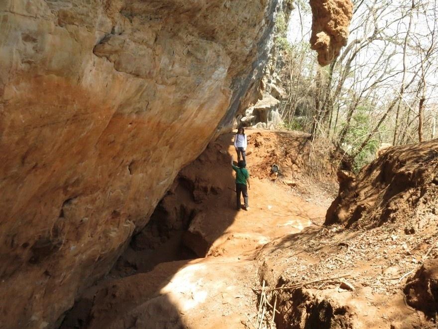 3.abr.2017 - Gruta Lapa Vermelha, onde foi encontrada Luzia no Monumento Natural Estadual da Lapa Vermelha