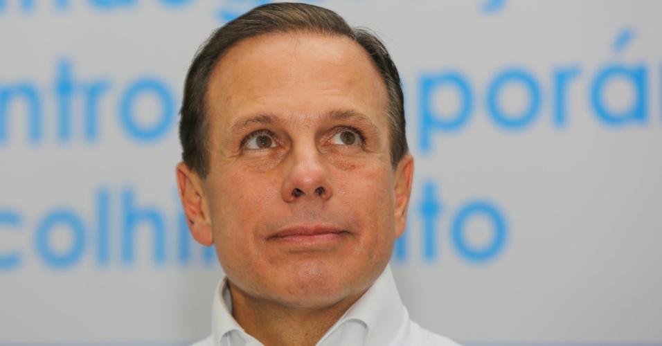 """28.dez.2017 - """"Não há razão para incerteza. Eu fui eleito prefeito para cumprir o meu mandato por quatro anos. Até dezembro de 2020 serei o prefeito da cidade de São Paulo"""""""