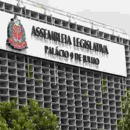 07.mar.2018 - Fachada da Alesp (Assembleia Legislativa de São Paulo) - Renato S. Cerqueira/Futura Press/Estadão Conteúdo