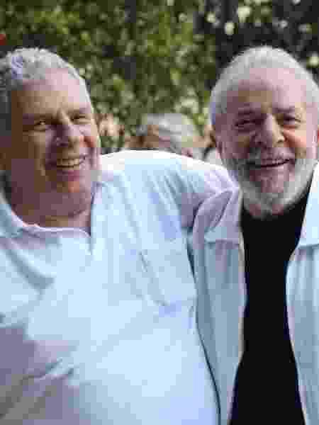 Lula e o irmão Genival Inácio da Silva, o Vavá - Divulgação/Twitter Lula