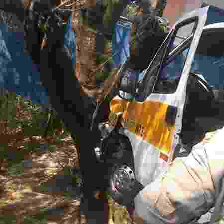 Acidente com van escolar deixa feridos no Rio de Janeiro - Reprodução/Redes sociais