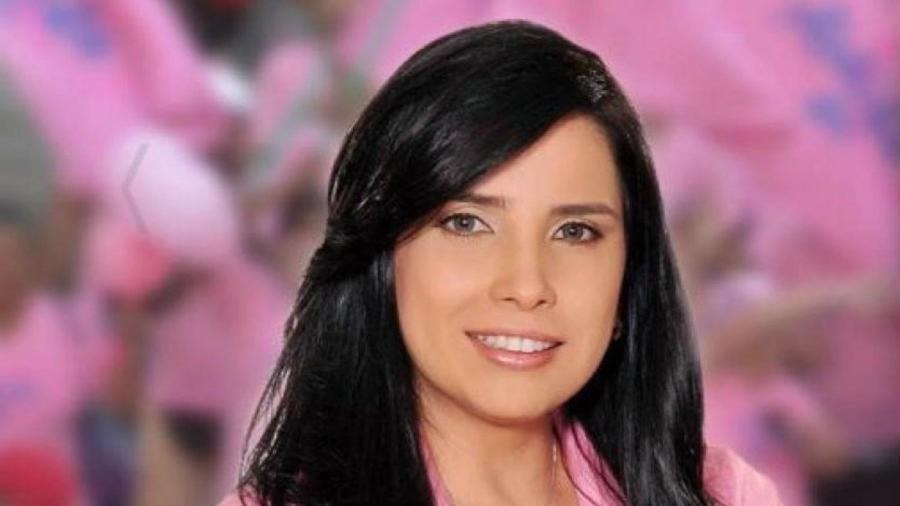 A ex-senadora colombiana Aída Merlano estava presa e fugiu de clínica em Bogotá - Divulgação/Aida Merlano