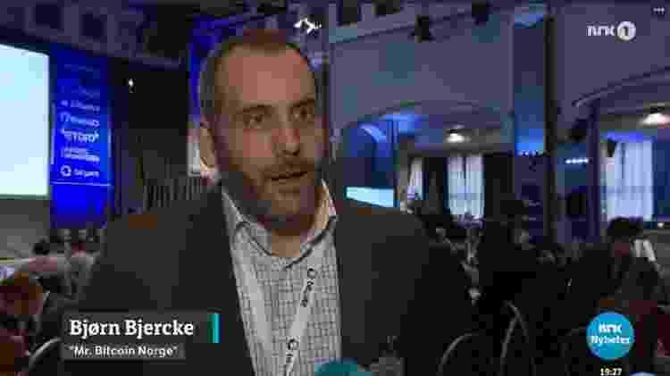 Bjorn Bjercke foi o primeiro a identificar falhas estruturais na OneCoin - NRK - NRK