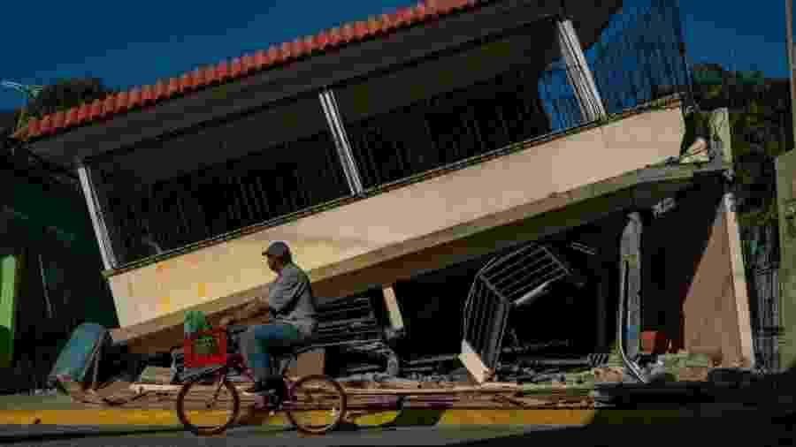 Porto Rico sofreu uma sequência de terremotos desde o fim de dezembro de 2019 - AFP