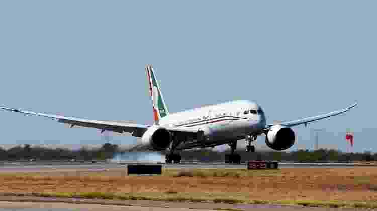 A aeronave da Presidência do México é um Boeing 787-8 - Divulgação/Presidencia de la República del Gobierno de México