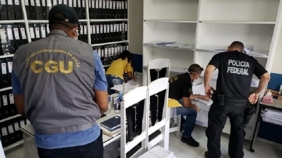 Operação Contrassenso foi uma parceria entre CGU e PF - Divulgação/Polícia Federal