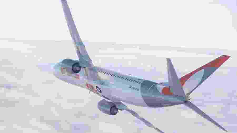 Avião da Gol Linhas Aéreas - Divulgação