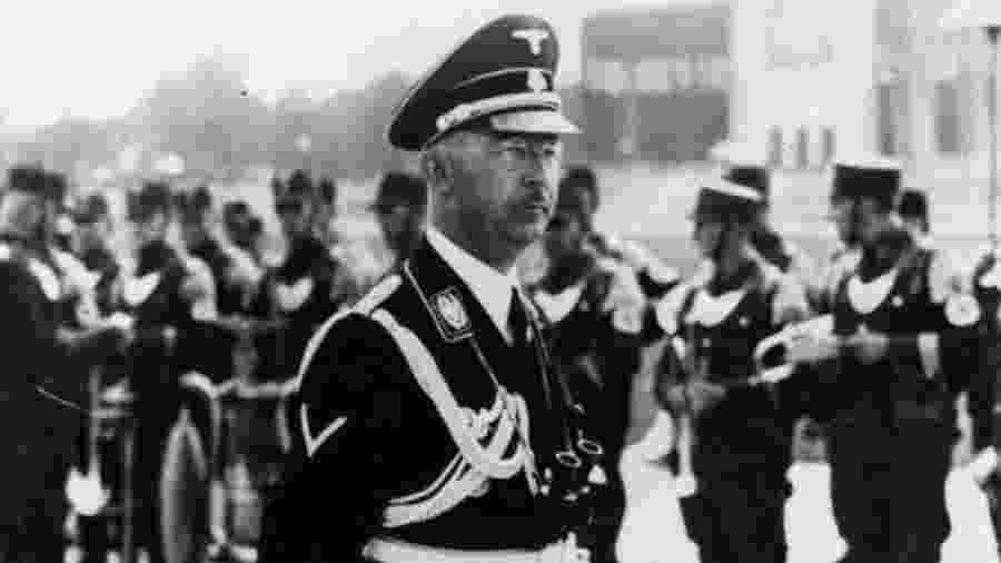 Heinrich Himmler era chefe da SS e foi peça-chave no Holocausto - GETTY IMAGES