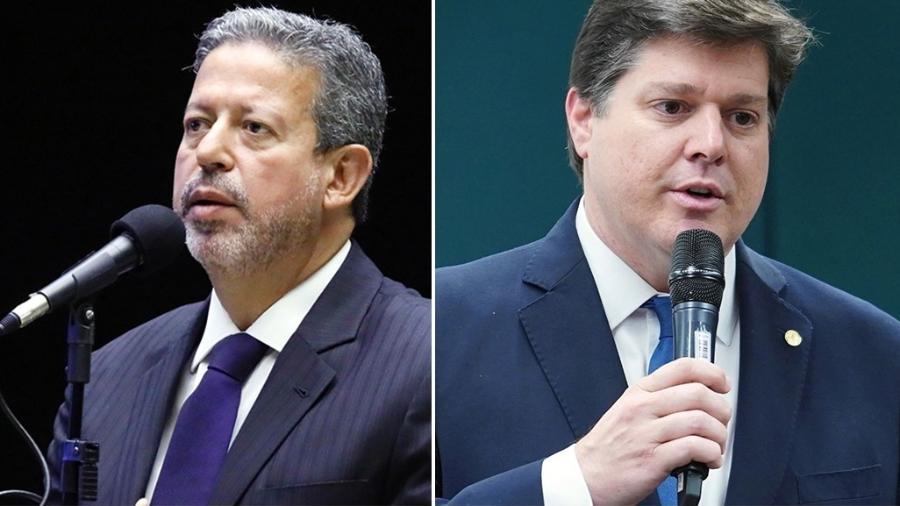 Os dois principais candidatos à Presidência da Câmara, Arthur Lira (PP-AL) e Baleia Rossi (MDB-SP) - Agência Câmara/UOL