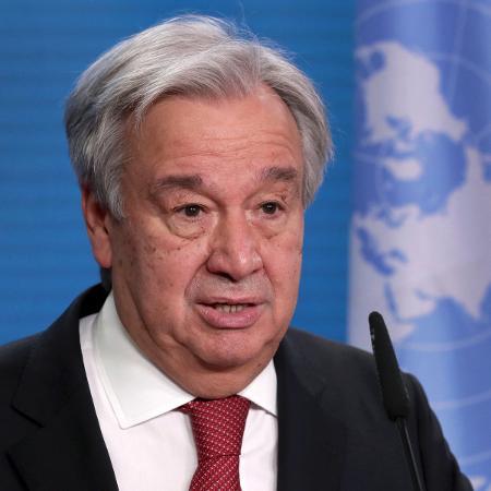 O secretário-geral da ONU, Antonio Guterres - 17.dez.2020 - Michael Sohn/Pool/AFP