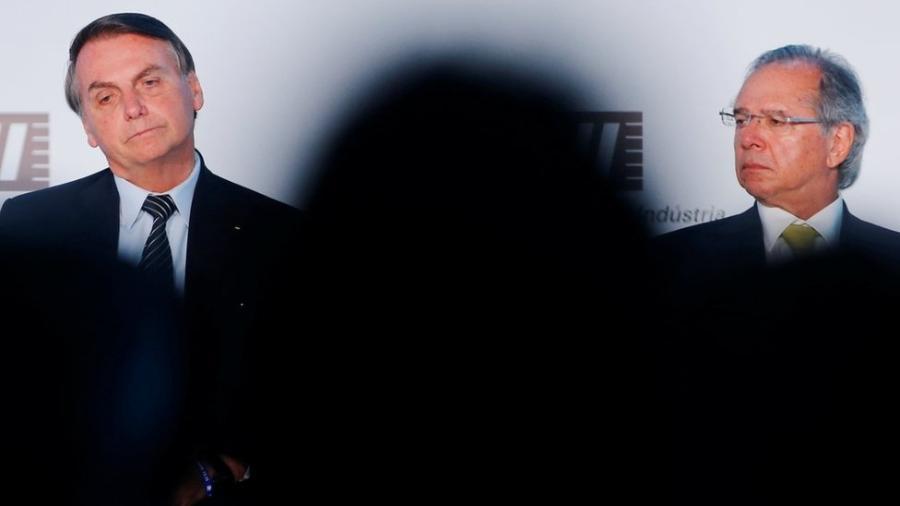 Bolsonaro e Guedes em foto de dezembro - REUTERS/Adriano Machado