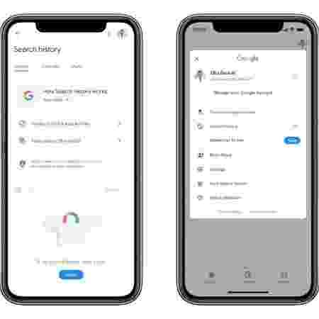 Google apresenta atalho para apagar últimos 15 minutos de histórico - Google/Divulgação - Google/Divulgação