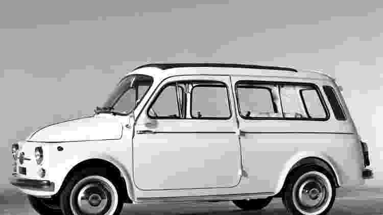 Fiat 500 Giardiniera - Divulgação  - Divulgação