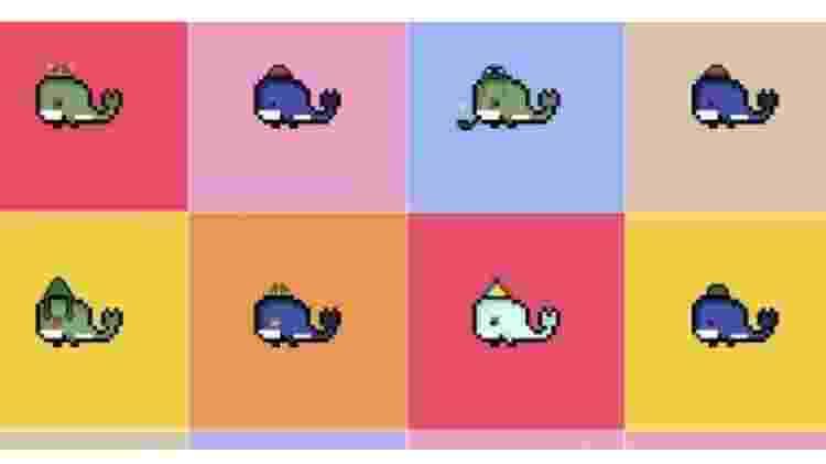 Weird Whales é a segunda coleção de arte digital de Benyamin, lançada na sequência de uma coleção anterior inspirada no videogame Minecraft que vendeu menos - Benyamin Ahmed - Benyamin Ahmed