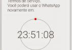 WhatsApp bane ao menos 1,5 mi de contas no Brasil por robôs e fake news - Reprodução