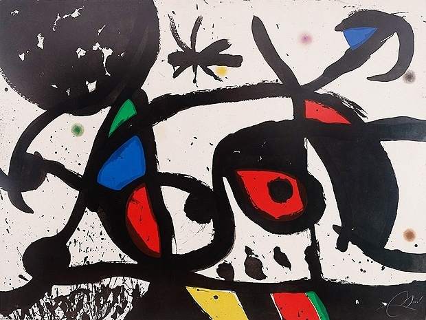 12.jan.2016 - Museu em Curitiba exibe gravura de Joan Miró apreendida na Lava Jato